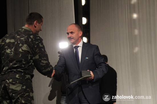 В Ужгороді влаштували концерт для учасників АТО. ФОТО