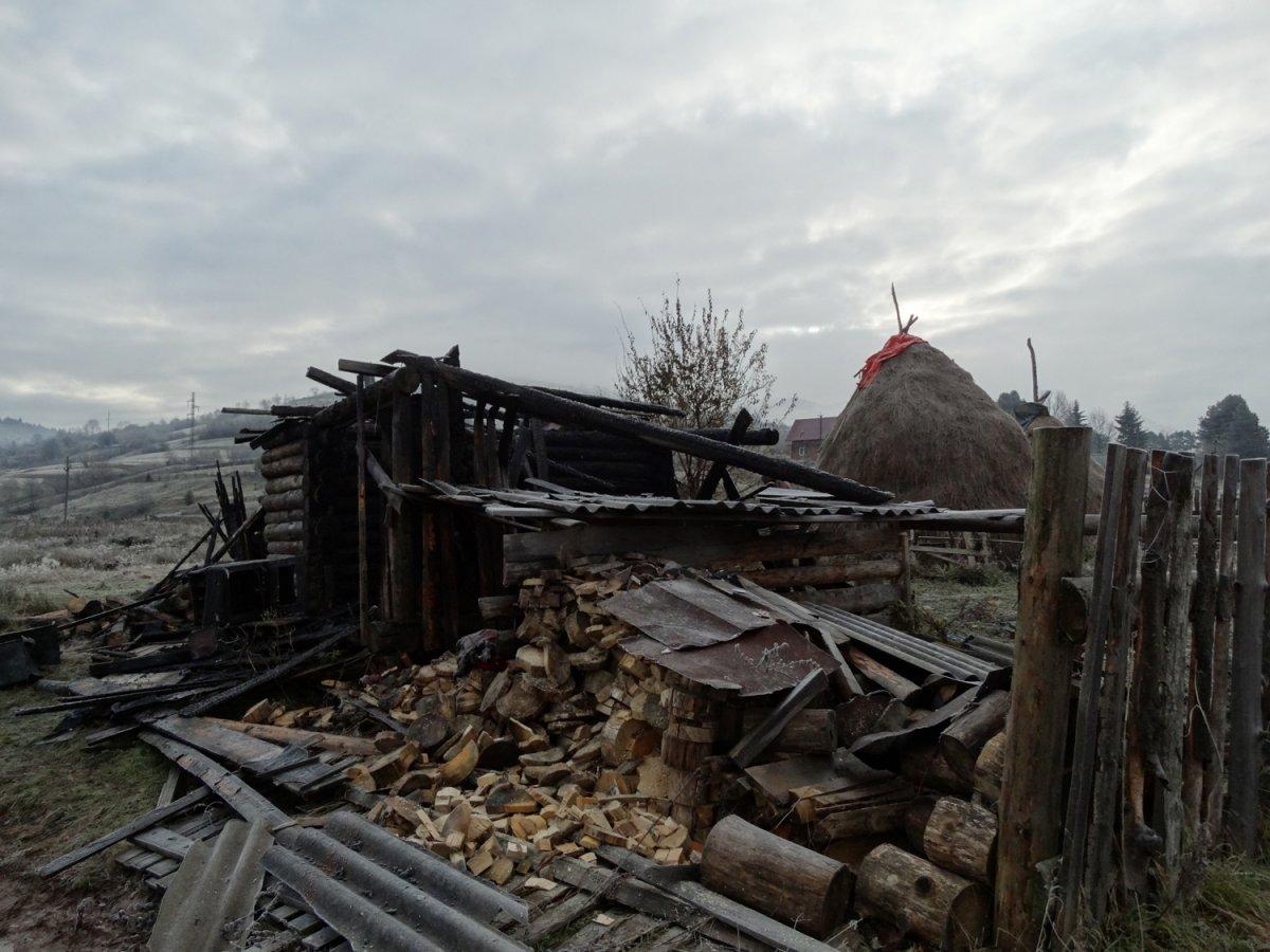 У Міжгір'ї під час пожежі померла 54-річна закарпатка (ФОТО)