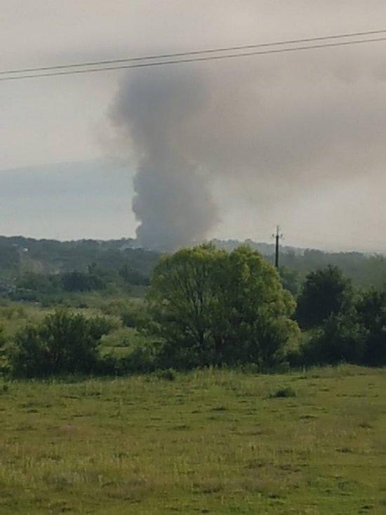 Поблизу Іршави горить сміттєзвалище, а на Ужгородщині хтось вкотре підпалив суху траву